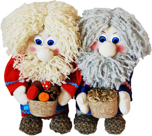куклы домовята