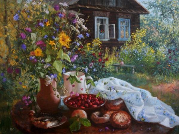 жизнь в деревне, зеленый блог