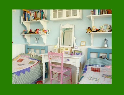 Детская спальня  в деревенском стиле
